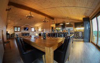 Four Bed Log Cabin Living Room 2