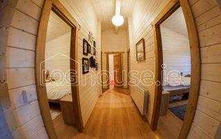 Four Bed Log Cabin Hallway