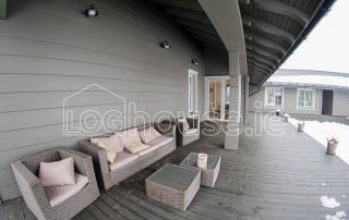 Glulam Log Cabin House Furniture