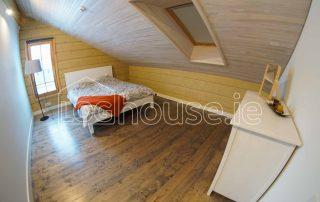 Glulam Log Cabin House Bedroom