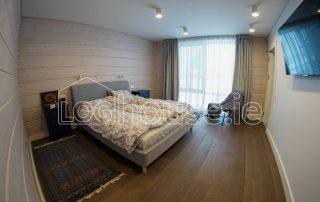 Glulam Log Cabin House Main Bedroom