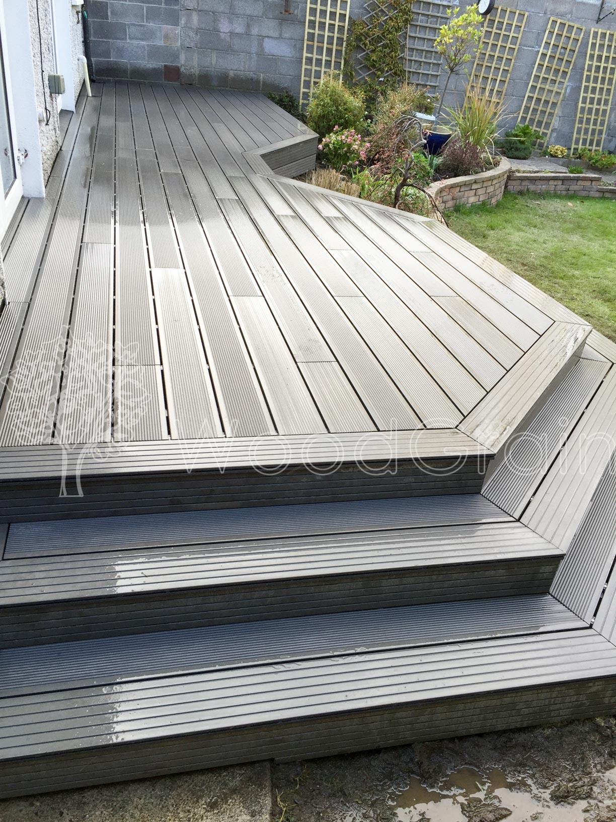 Composite Decking Log Cabins 16