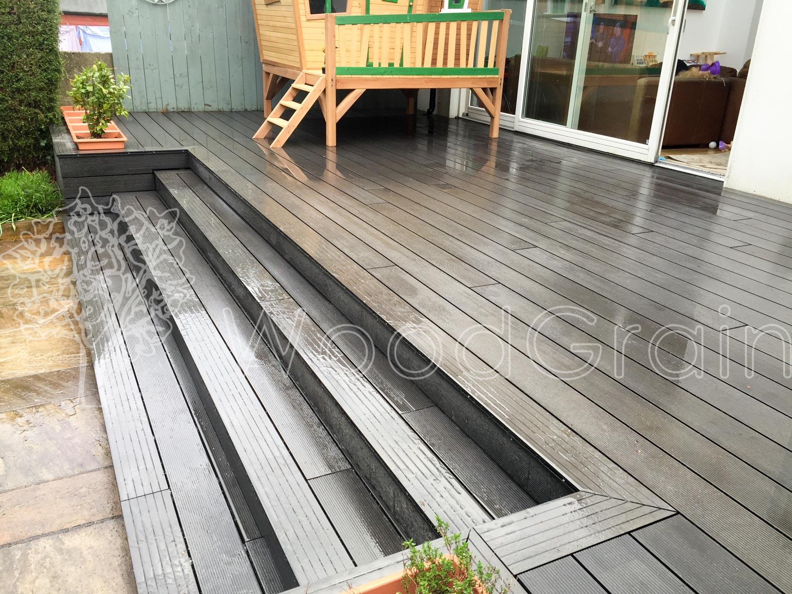 Composite Decking Log Cabins 11