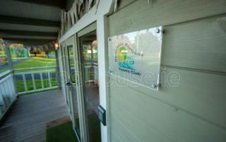 Log Cabin Tennis Logo