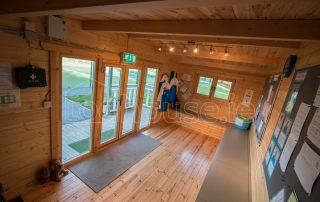 Inside Log Cabin 2