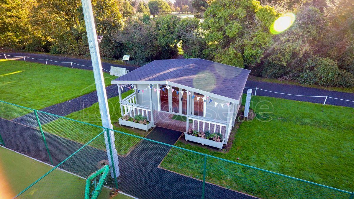 Drone Log Cabin