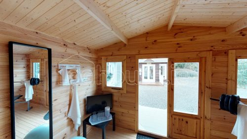 Greystones Log Cabin