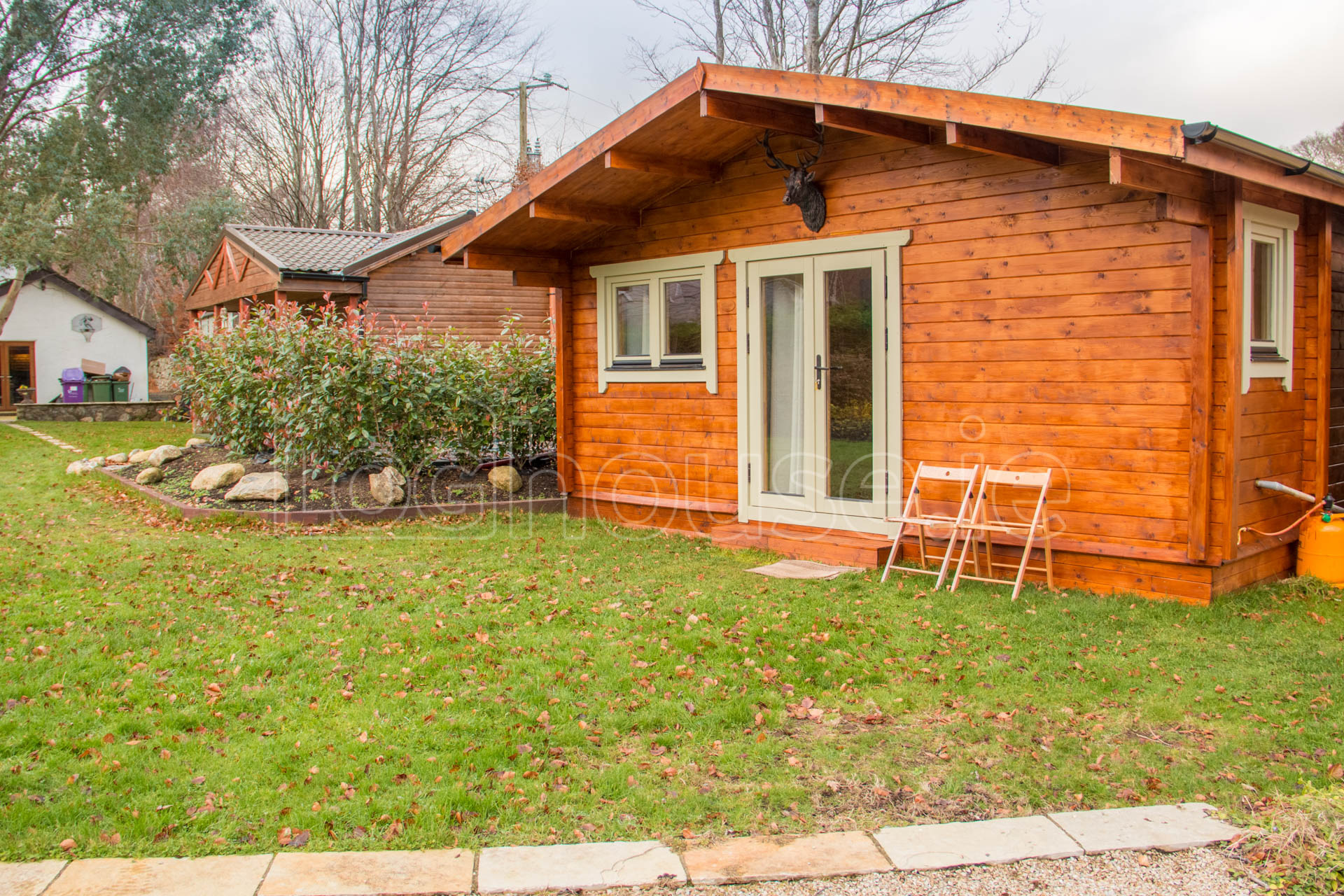 Two Bed Type D Log Cabin Tudor Lodge