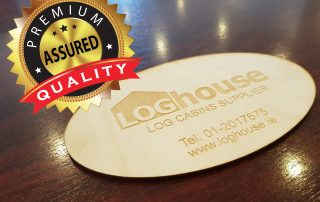 Loghouse Quality Guaranteed