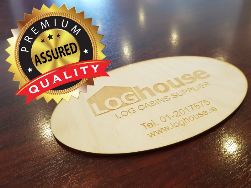 Loghouse Quality Guaranteed