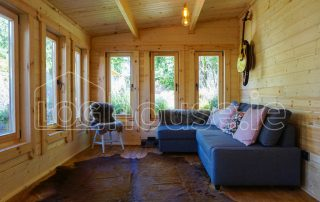 Loghouse Extension Log Cabin