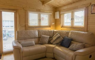 Two Bed Type E Log Cabin