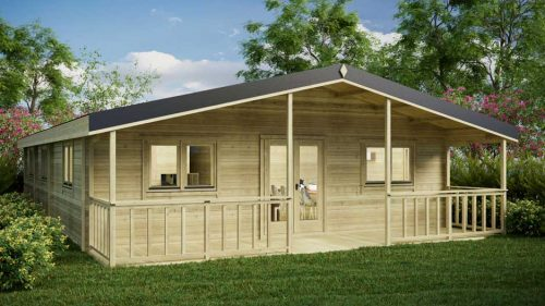 4-BED-TYPE-A Loghouse Log Cabins