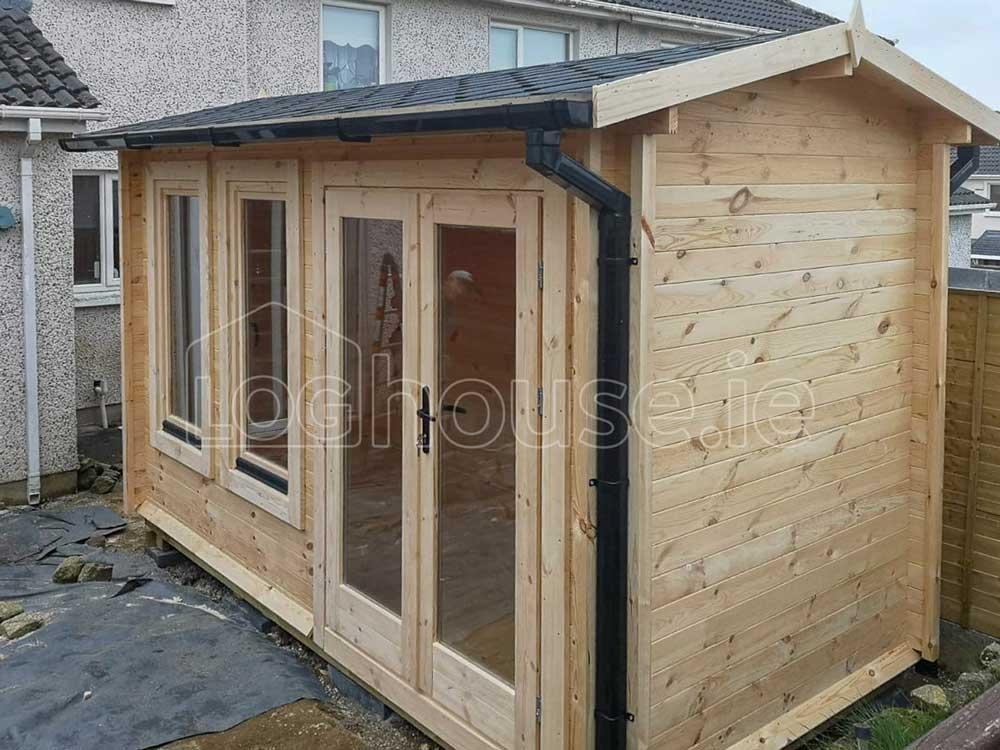 Newcastle Log Cabin 4m X 3m Loghouse Ie