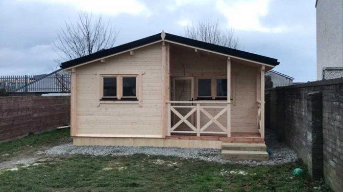 Three Bed Type B Log Cabin