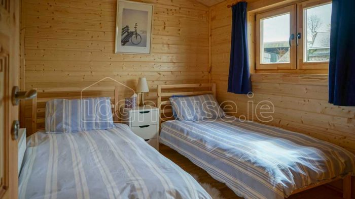 Two Bed Type C Log Cabin