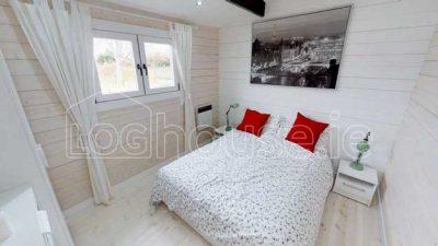 2 bedroom type c log cabin interior 7