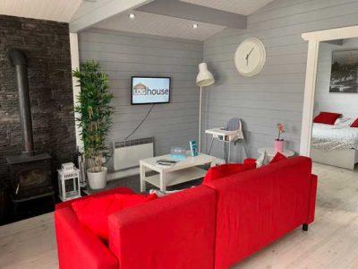 2 bedroom type c log cabin interior 4