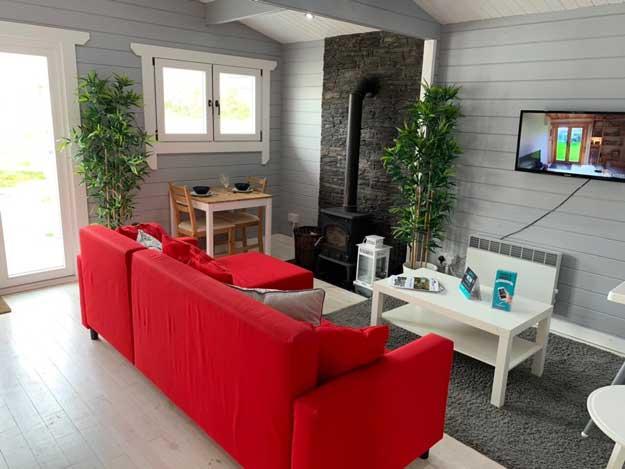 2 bedroom type c log cabin interior 3