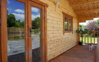Where to Live When Building a Home- Log Cabin Temporary Homes