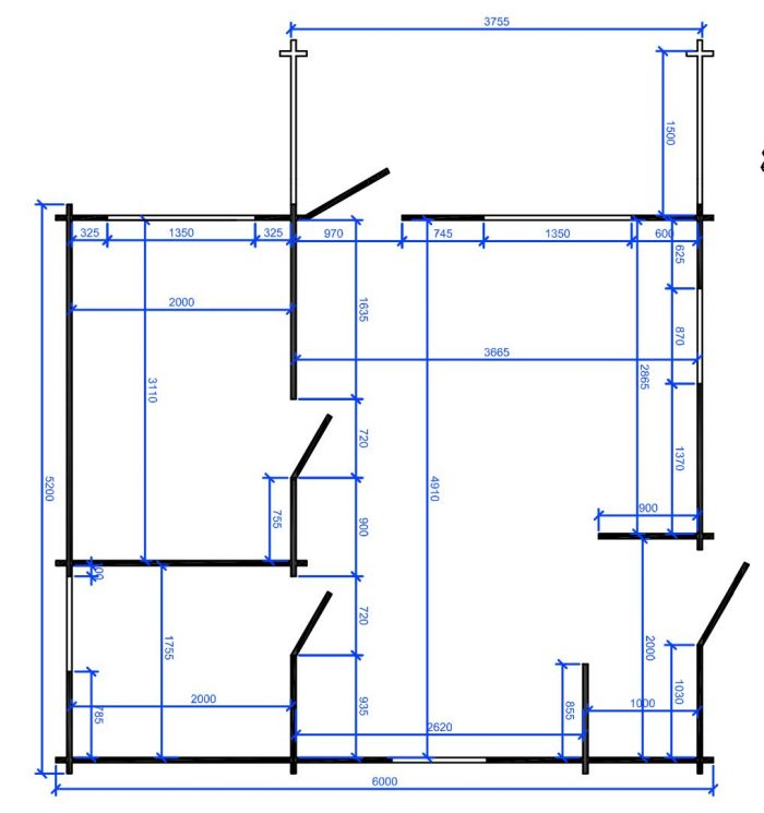 One-Bed-Budget-Cabin-B---Loghouse-Log-Cabin-floor-plan-map