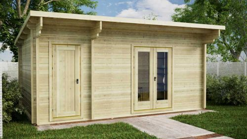 Custom-2-Room-Log-Cabin-Front-2