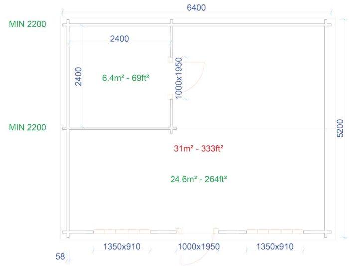 6.4m-x-5.2m-Custom-Studio--Plans