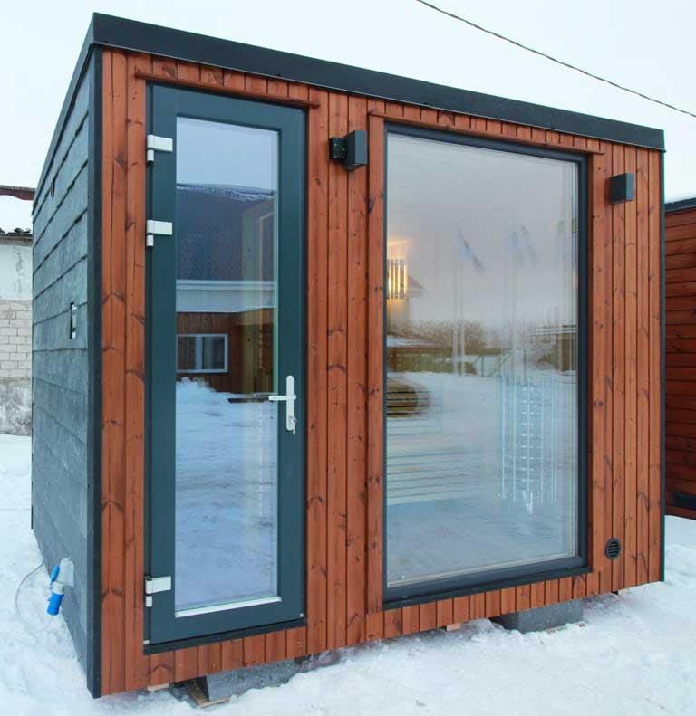 Loghouse's-new-sauna-garden-room---Exterior